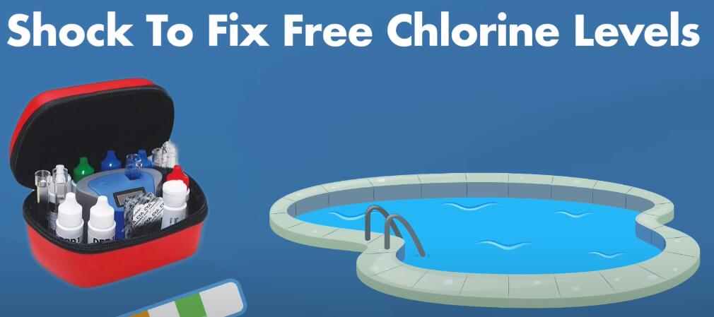 How Often Should You Shock Your Pool?-shock to fix free chlorine levels