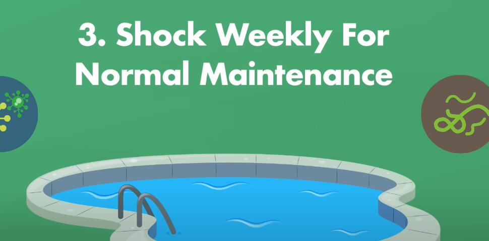 How Often Should You Shock Your Pool?-shock weekly for normal maintenance