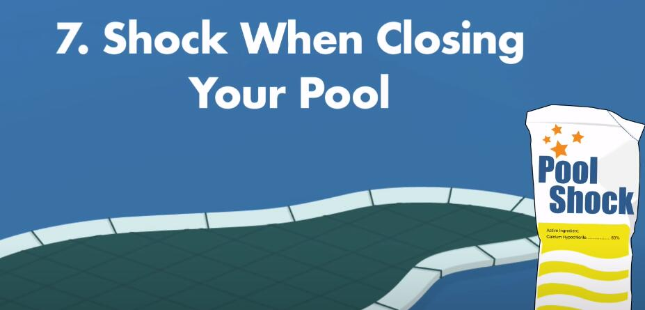 How Often Should You Shock Your Pool?-shock when closing your pool