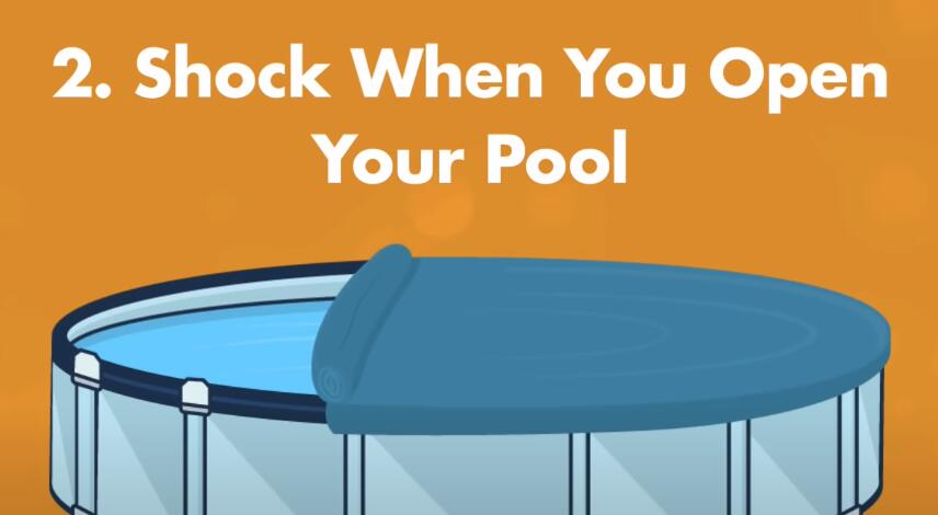 How Often Should You Shock Your Pool?-shock when you open your pool